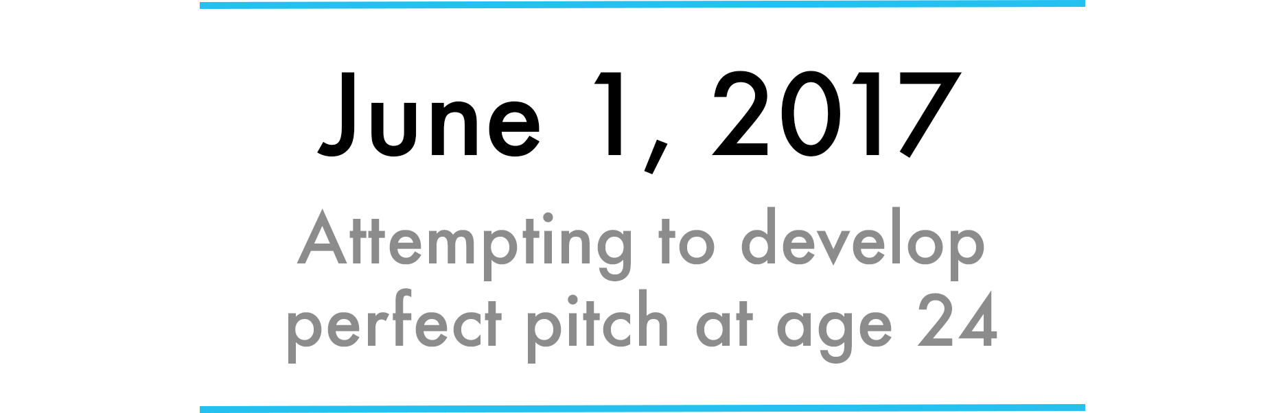 Learn perfect pitch!