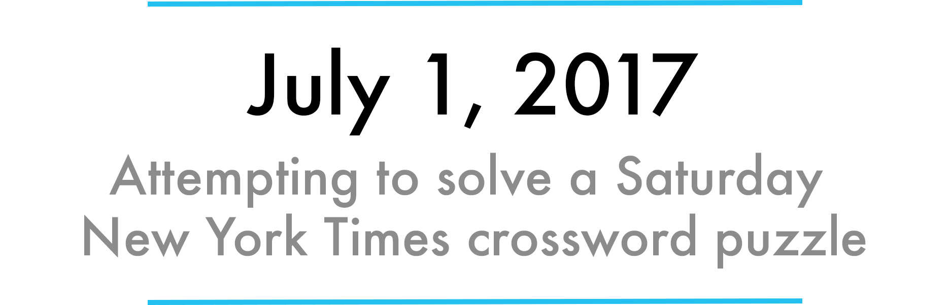 picture relating to La Times Printable Crossword Puzzle identify How I mastered the Saay NYT crossword puzzle within just 31 times