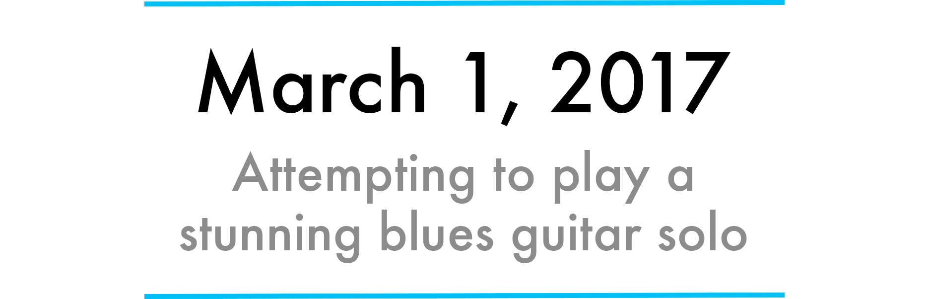 How to become a master of improvisational blues guitar in