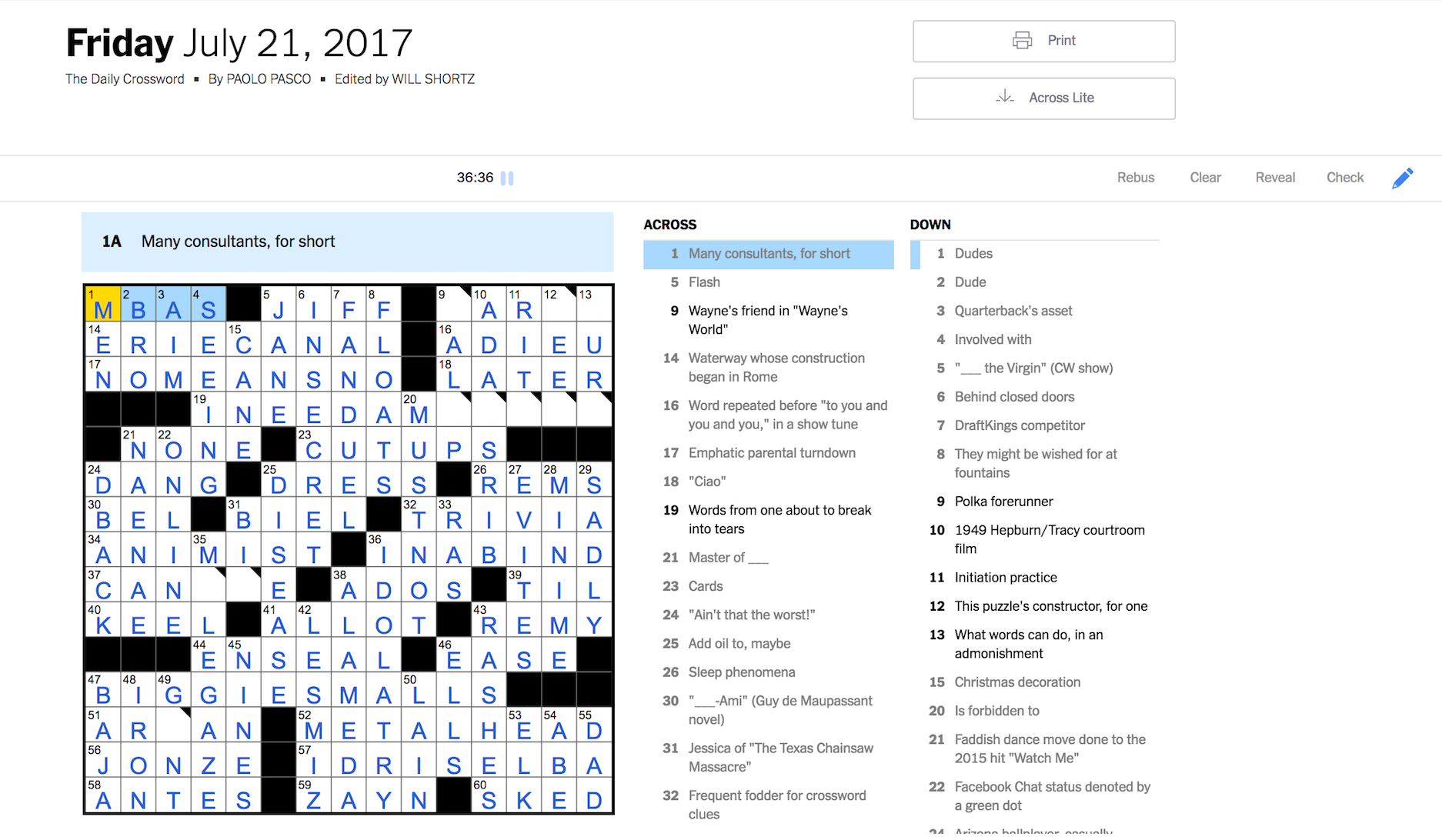 graphic relating to Ny Times Sunday Crossword Printable identify How I mastered the Saay NYT crossword puzzle in just 31 times