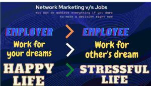 Why Vestige Network Marketing is Better Than Job?