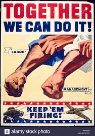 """Stock image: """"We can do it together!"""""""
