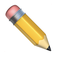 This a yellow pencil.