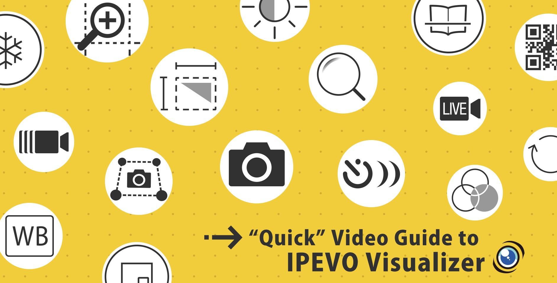 "A ""quick"" video guide to IPEVO Visualizer software"