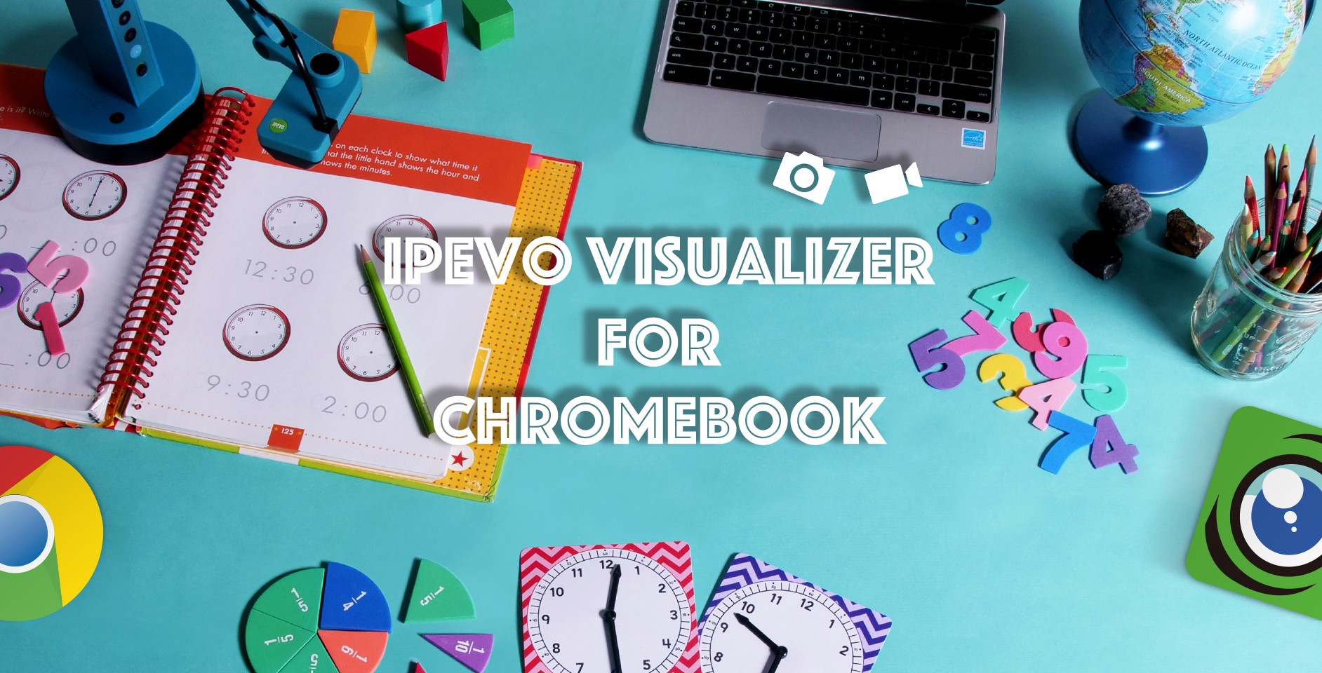 IPEVO Visualizer for Chromebook — Taking snapshots and recording videos