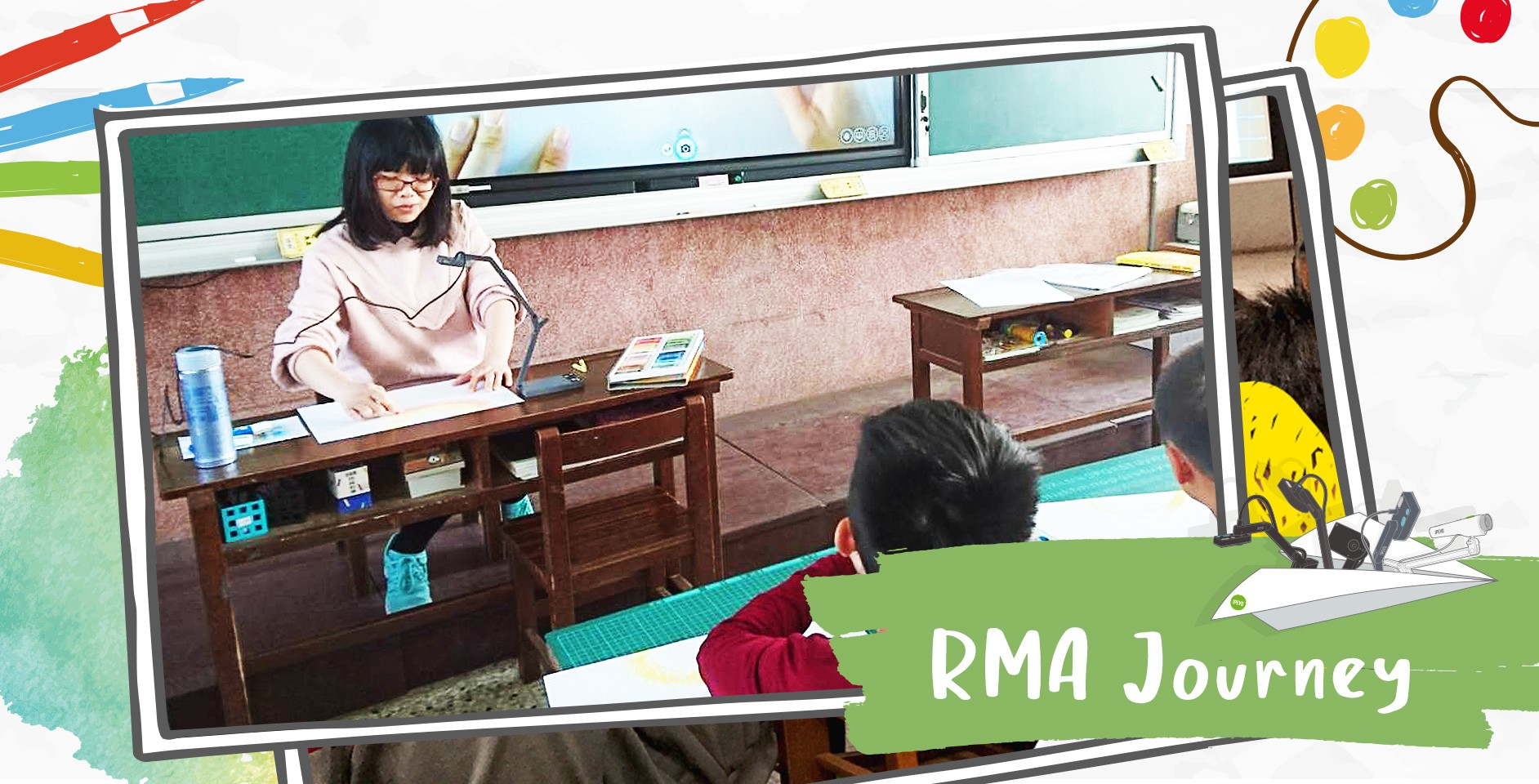 IPEVO's RMA Journey Part Two: Utilizing Document Cameras for Teaching Arts & Crafts