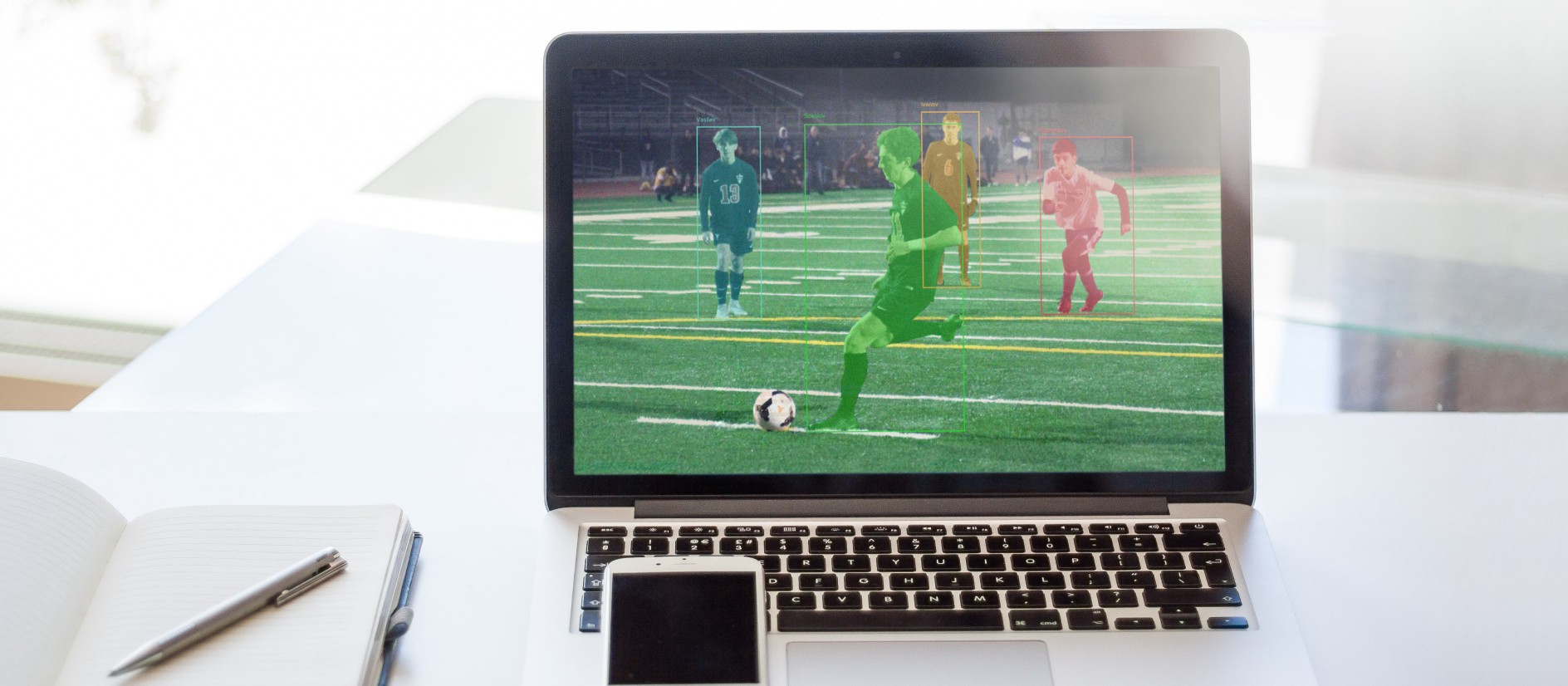 Automated video analytics for football schools
