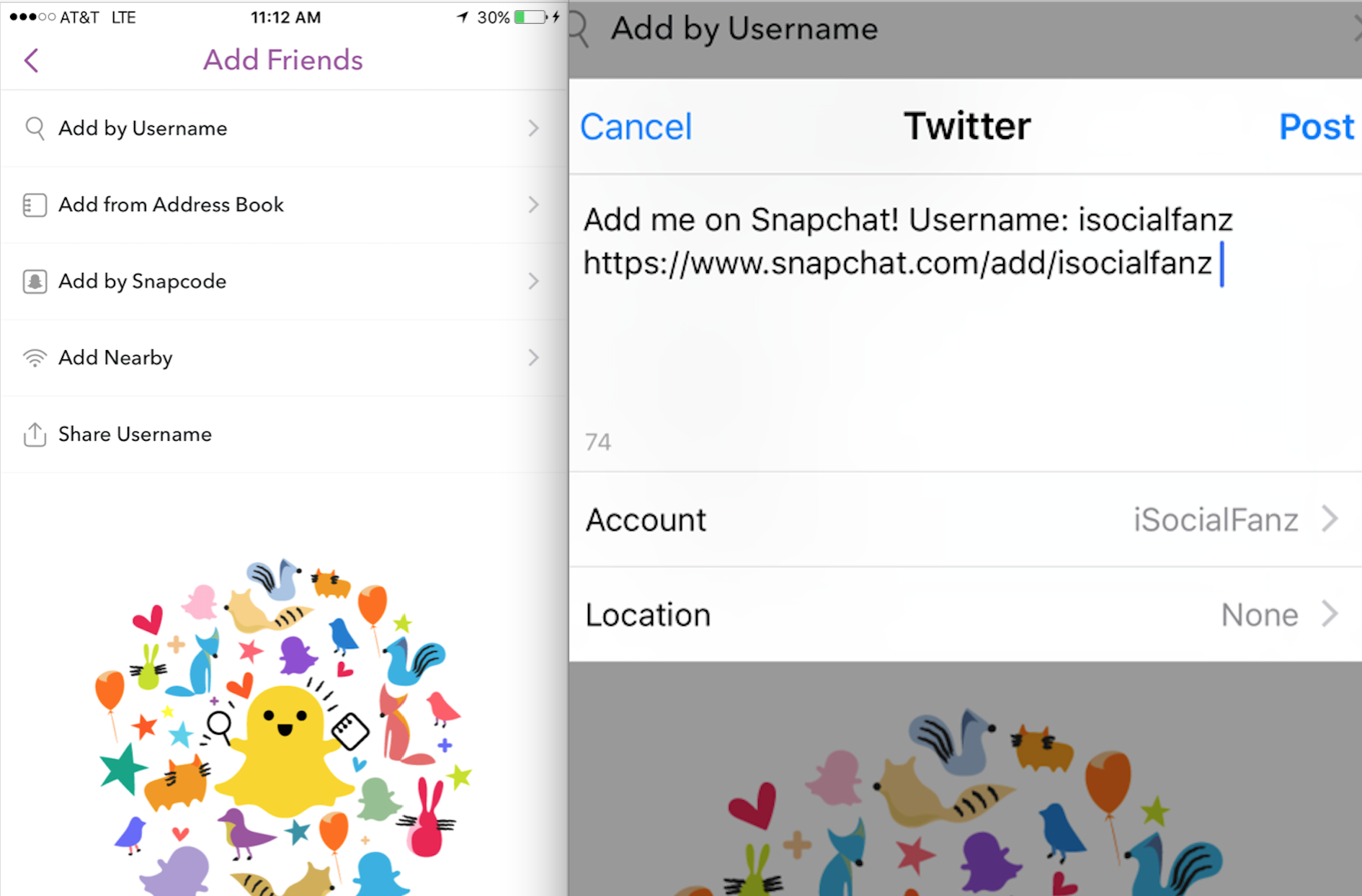 Snapchat URL Change Huge For Promoting Your Snapchat Code On