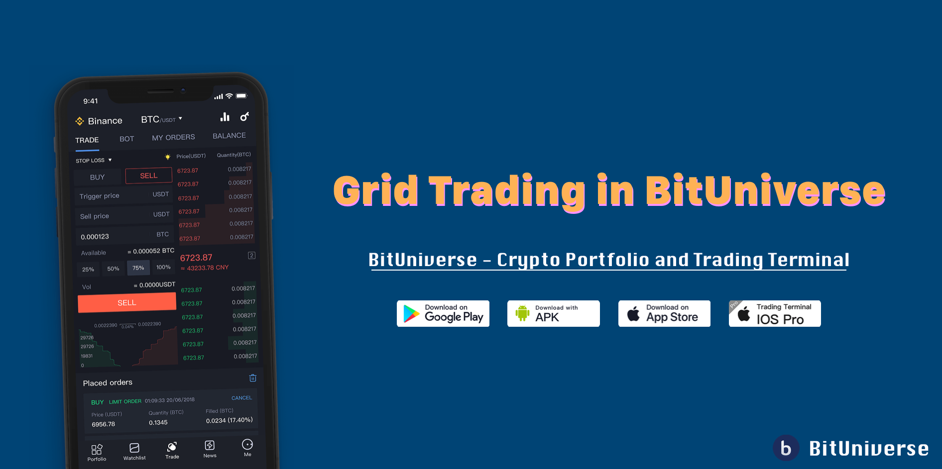 🤖 Grid Trading in BitUniverse — Best Trading Strategy in