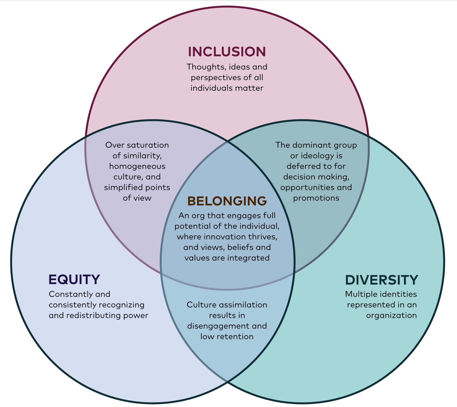 Belonging: A Conversation about Equity, Diversity, and Inclusion | by Krys  | Medium