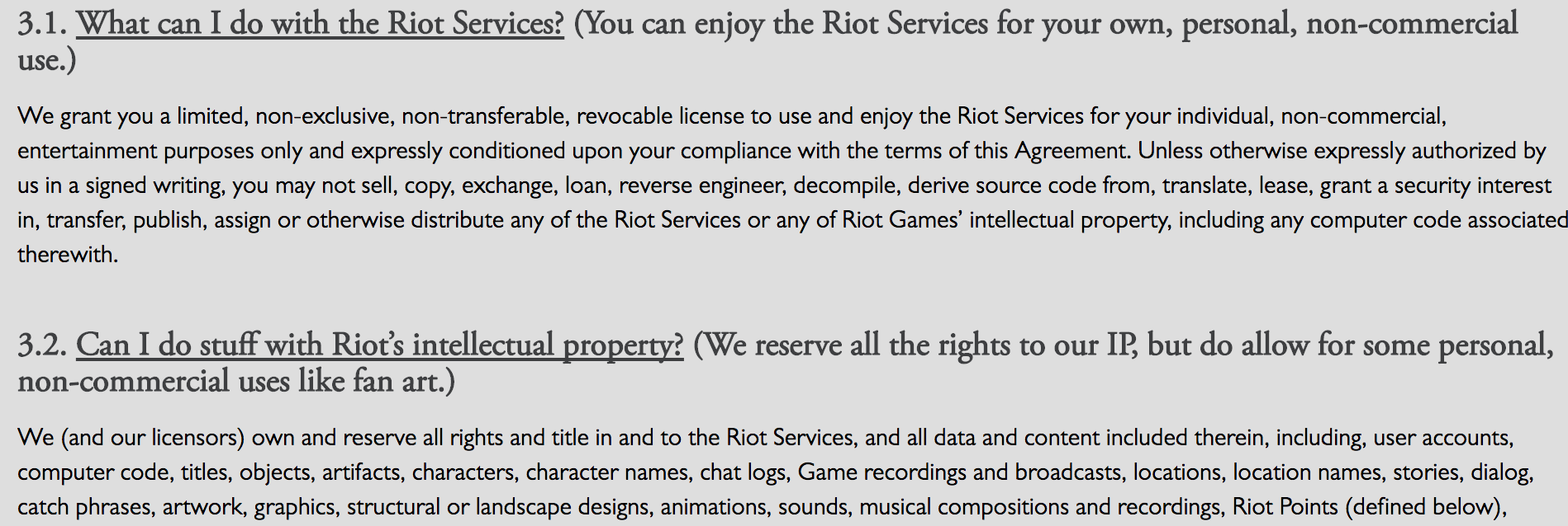 Terms Of Use >> Terms Of Service From A Gamer S Perspective What Is