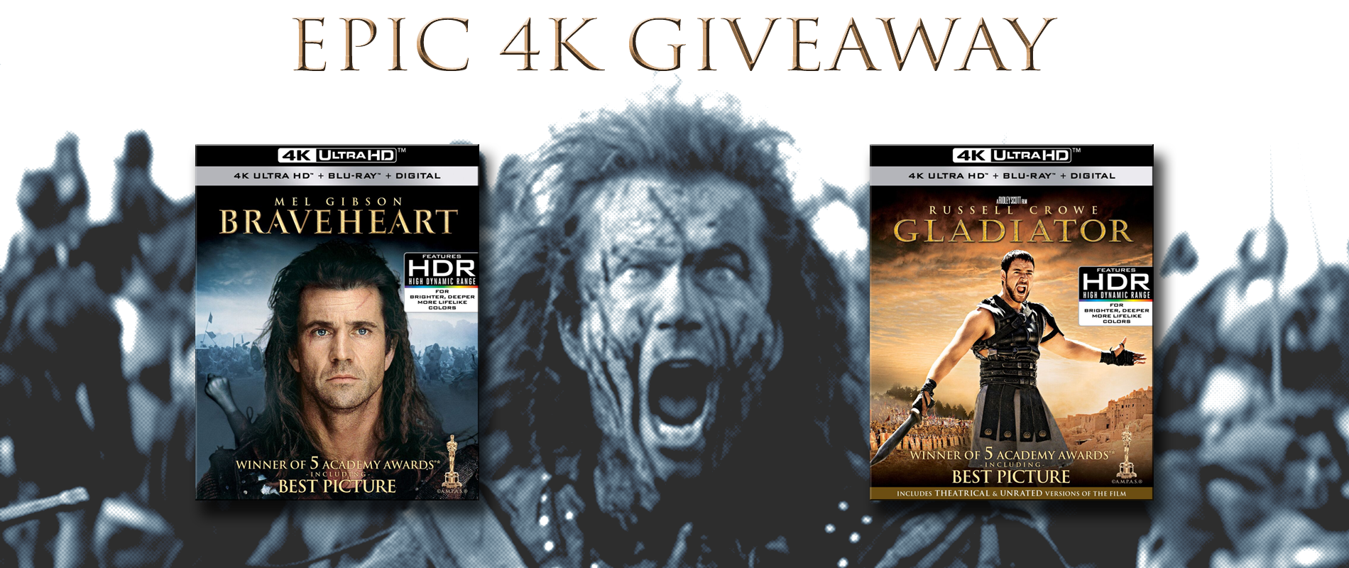 Are You Not Entertained? Enter to Win GLADIATOR and
