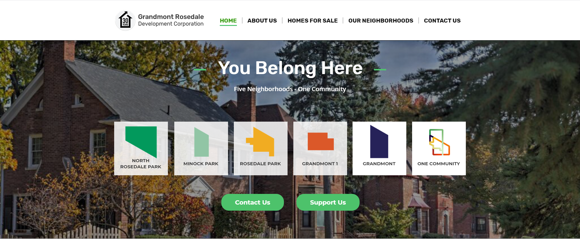 Image of Grandmont-Rosedale Development Corporation landing page