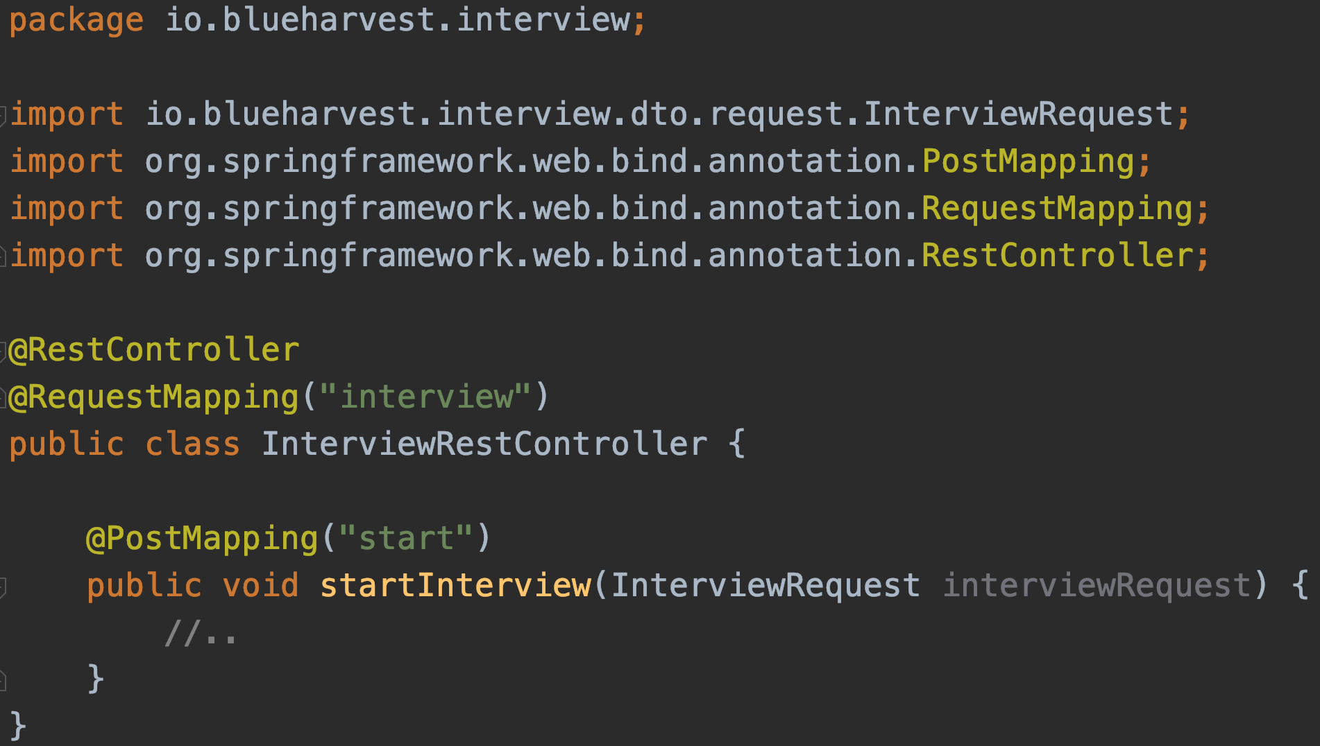 Interview Process for Software Engineers - Blue Harvest Tech