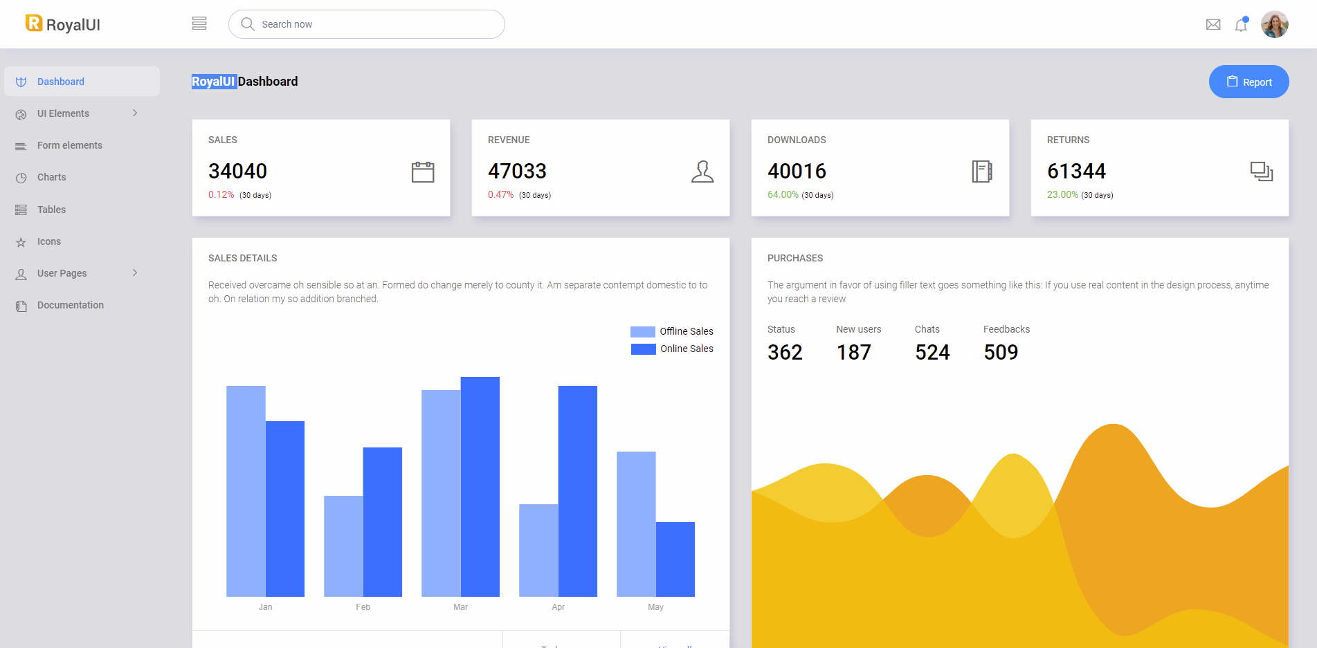 7 Free Bootstrap 4 Admin Dashboard Themes for Download