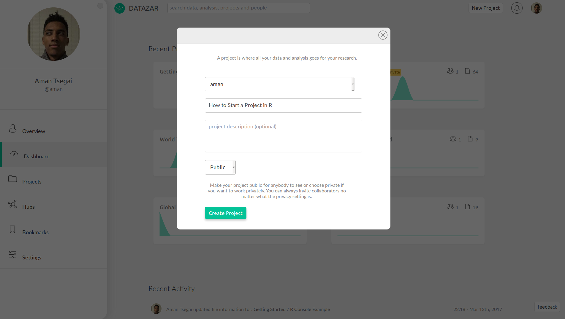 How to Start an R Project - Datazar Blog