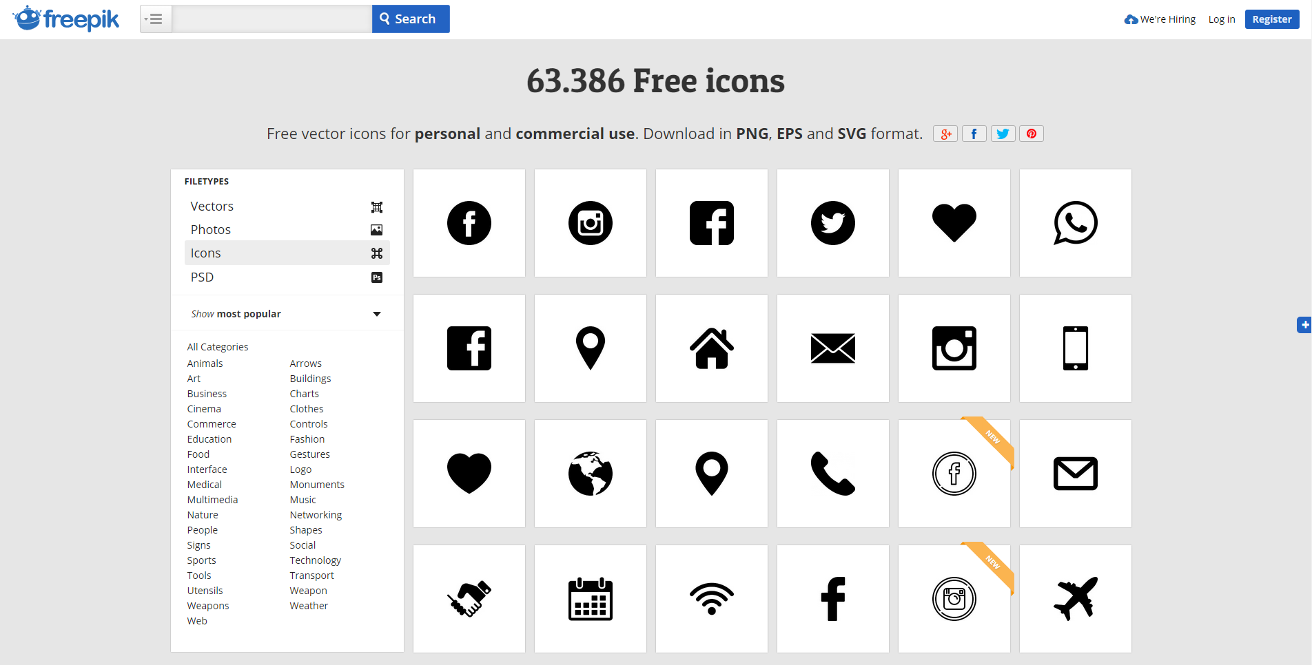 Free icons — best sources - Order Group - Medium