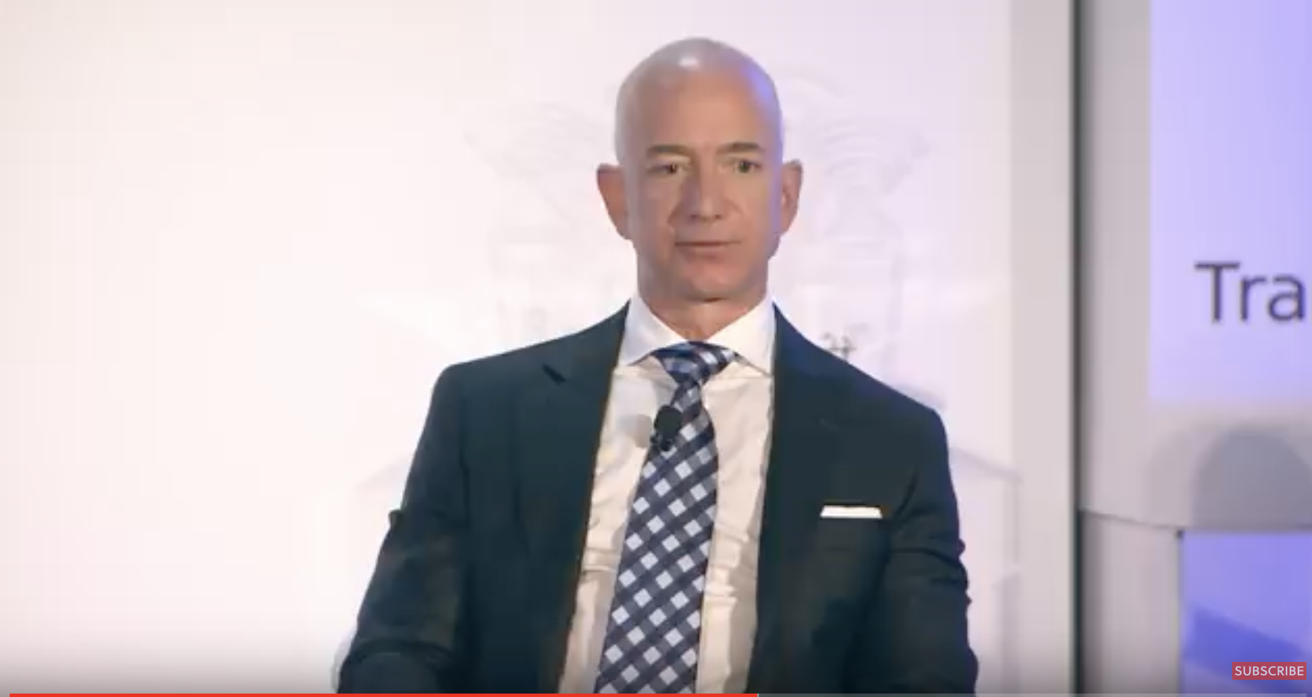 Jeff Bezos interview. 37 minutes long ...