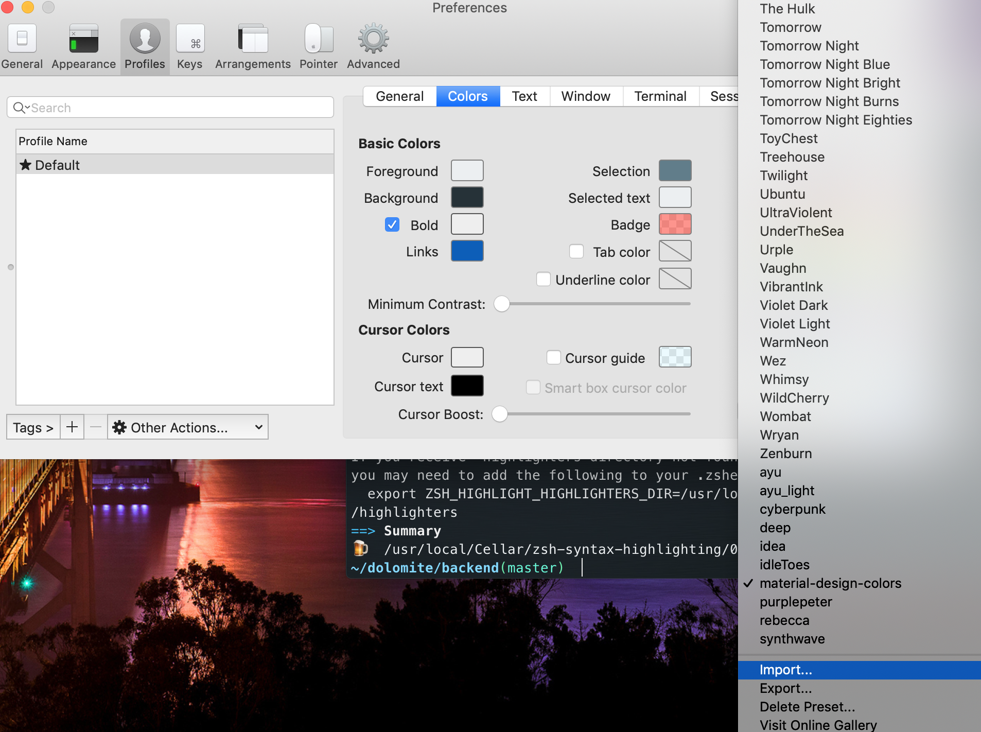 Supercharge Your Productivity With iTerm2 & zsh - Dolomite