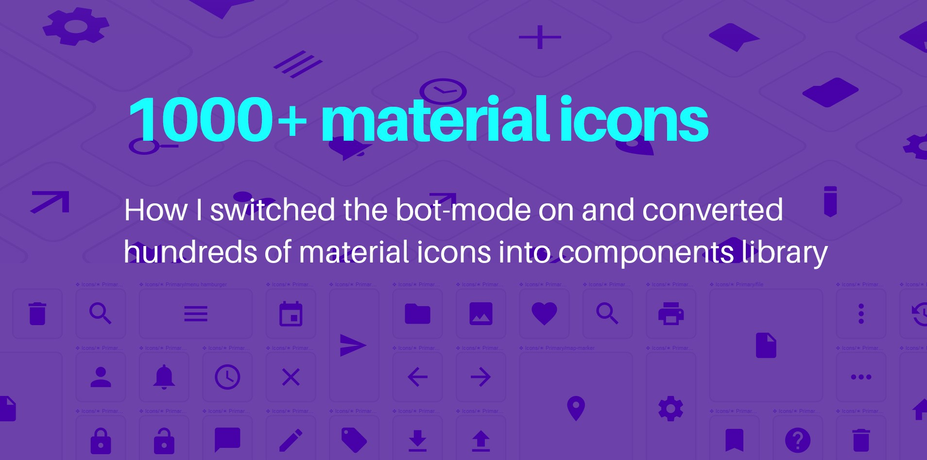 Figma material icons  Components library