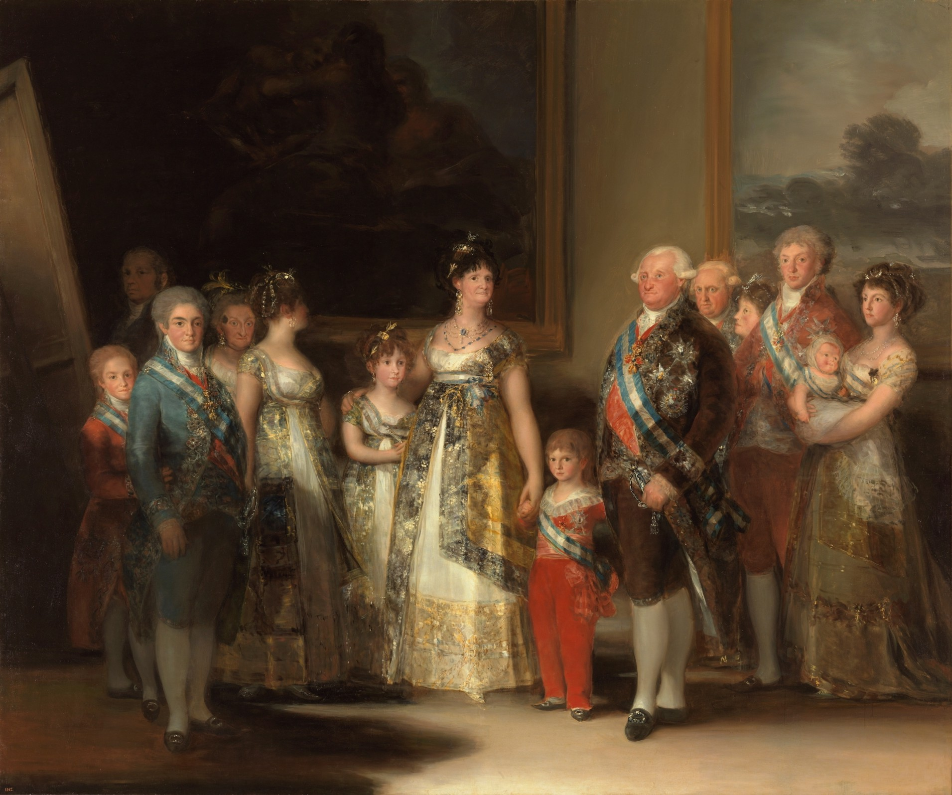 Charles IV of Spain and His Family (Francisco Goya, painting)