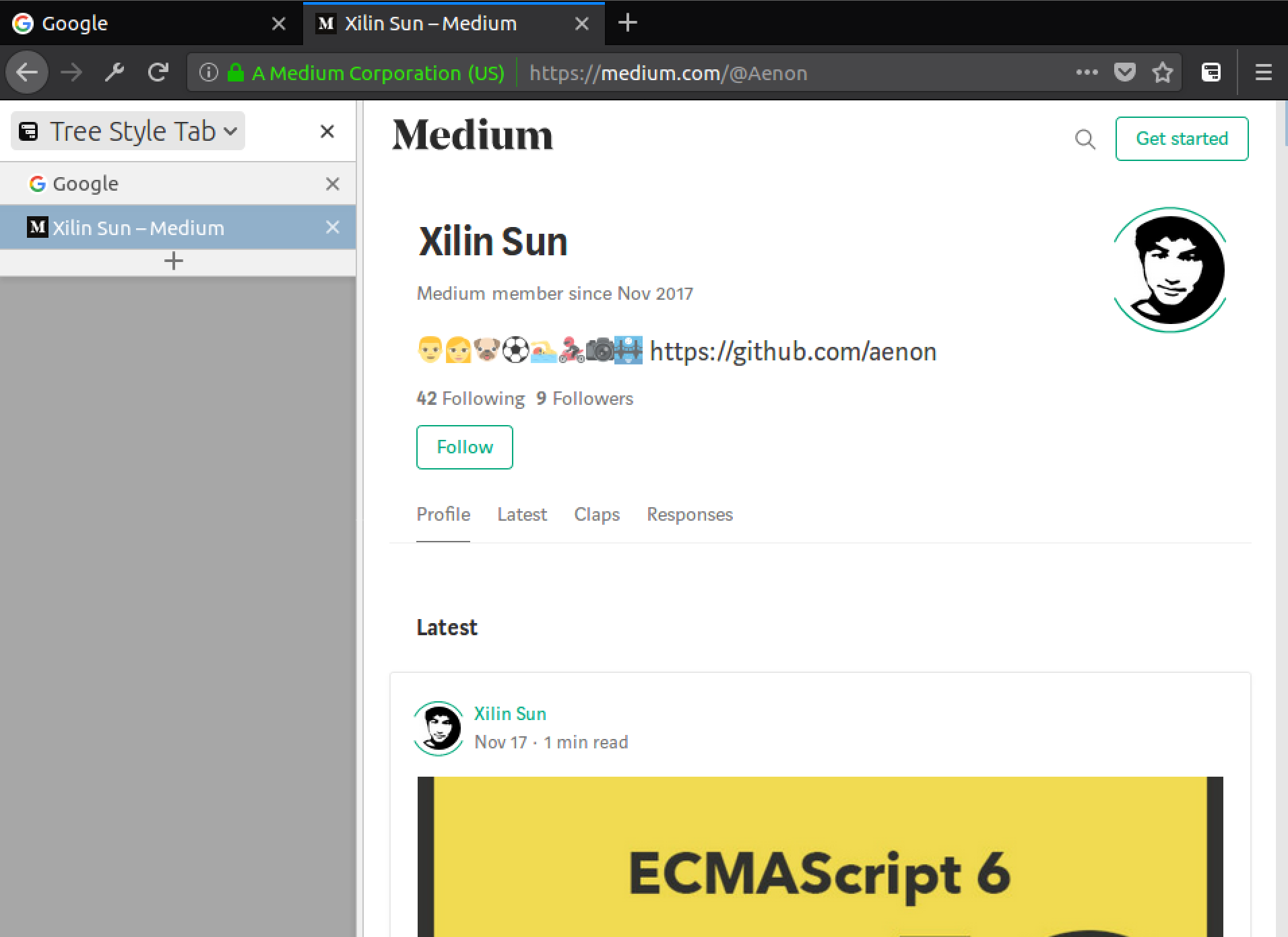 Firefox: Hide Native Tabs and Titlebar - Xilin Sun - Medium