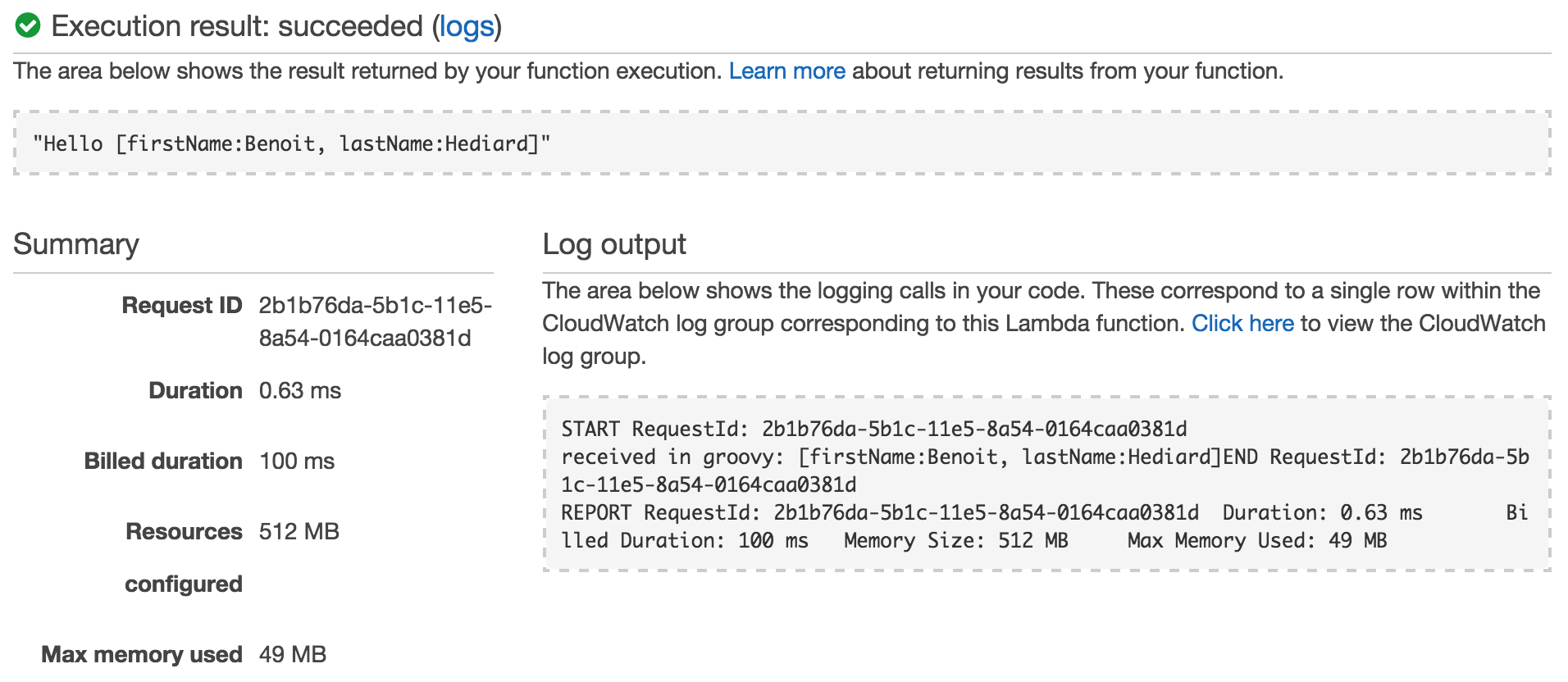 How to build a microservice with AWS Lambda in Groovy
