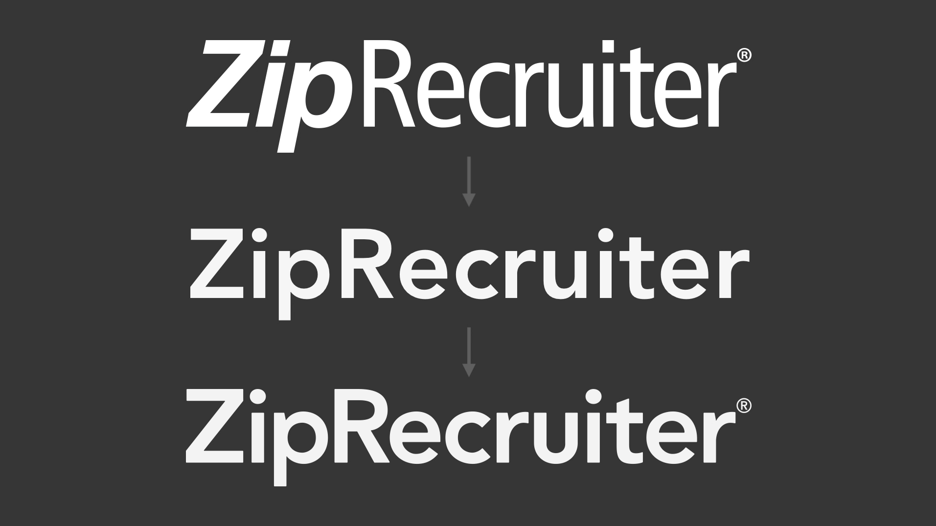 ZipRecruiter Logo Refresh - ZipRecruiter Design Team - Medium