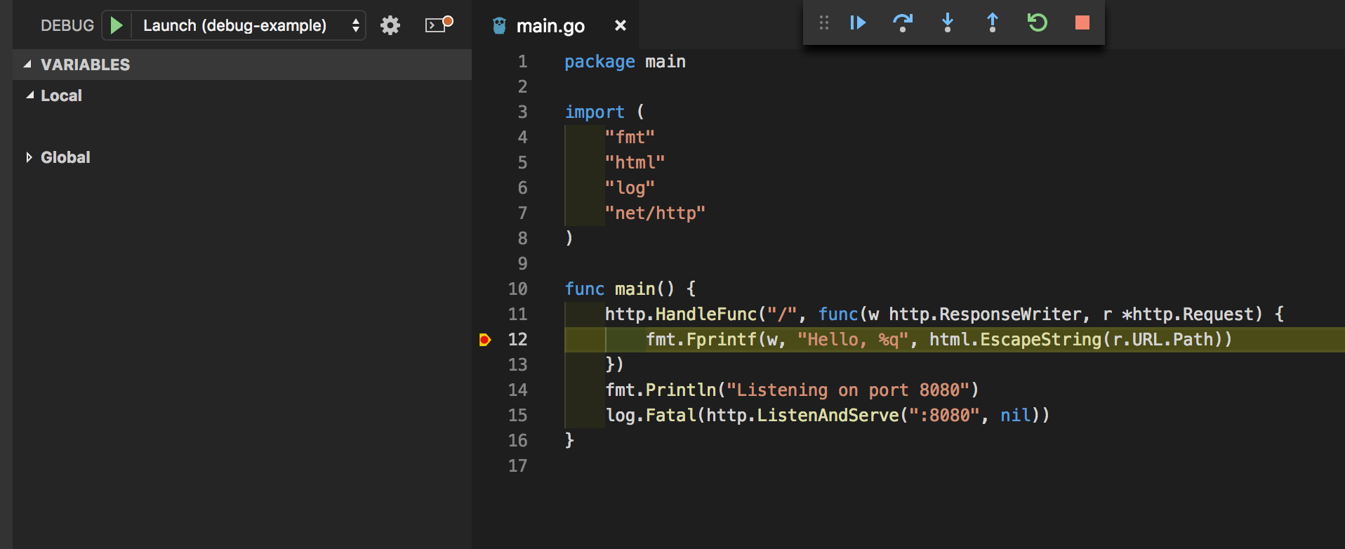 How to debug a running Go app with VSCode - average-coder