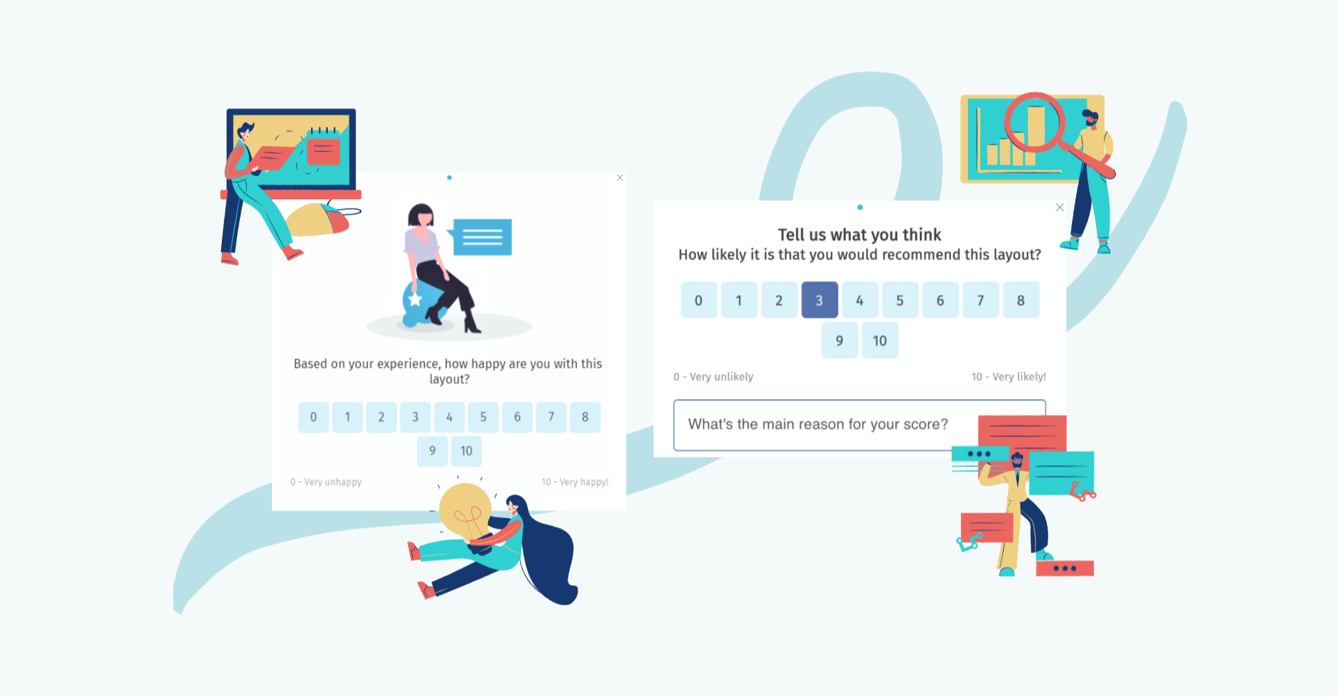 How to create an NPS survey for your website—Helppier Blog