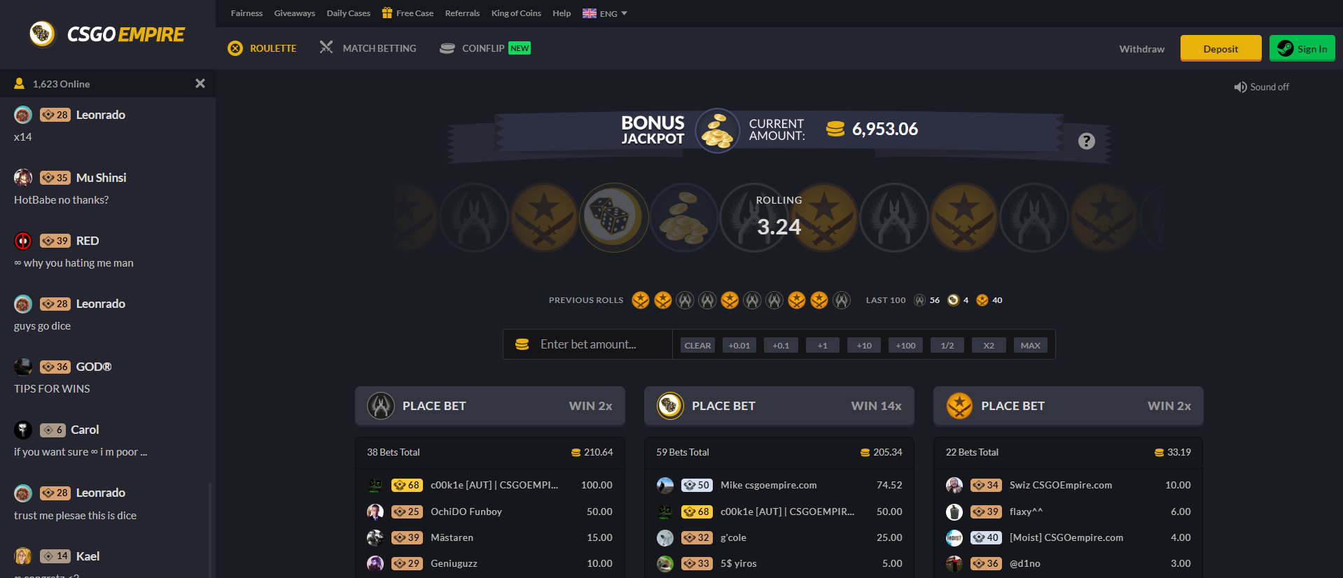 csgo upgrade sites with free coins