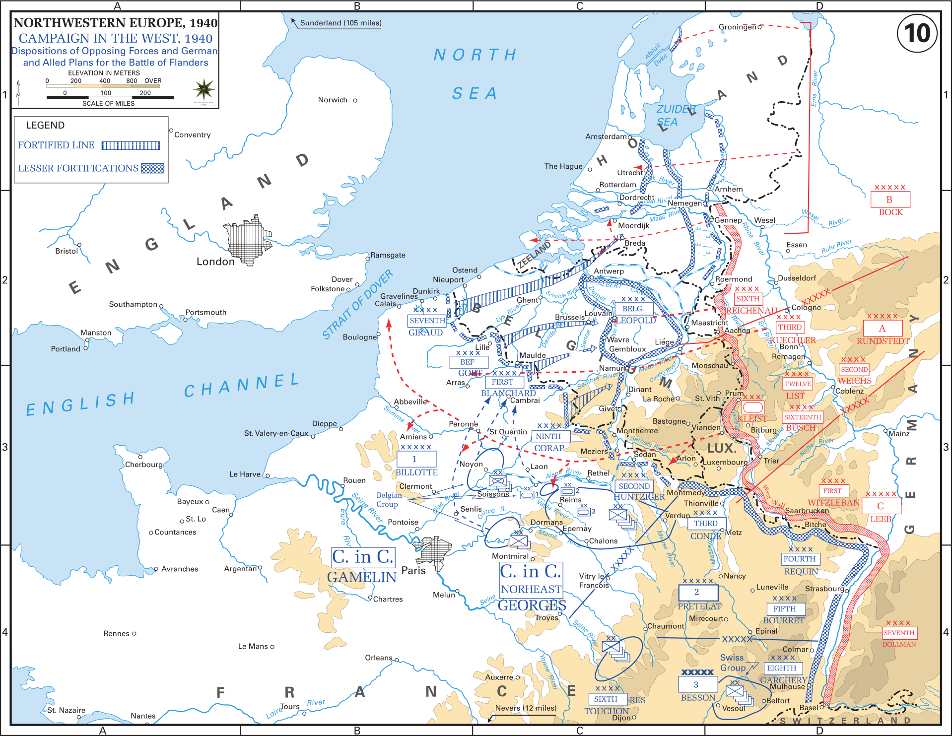 Western Front Maps of World War II - Inflab - Medium