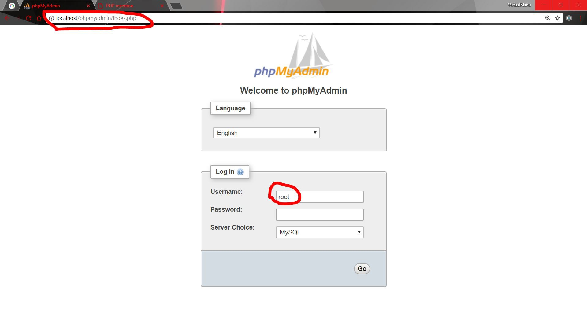 Creating a simple contact form using MySql and PHP in WAMP