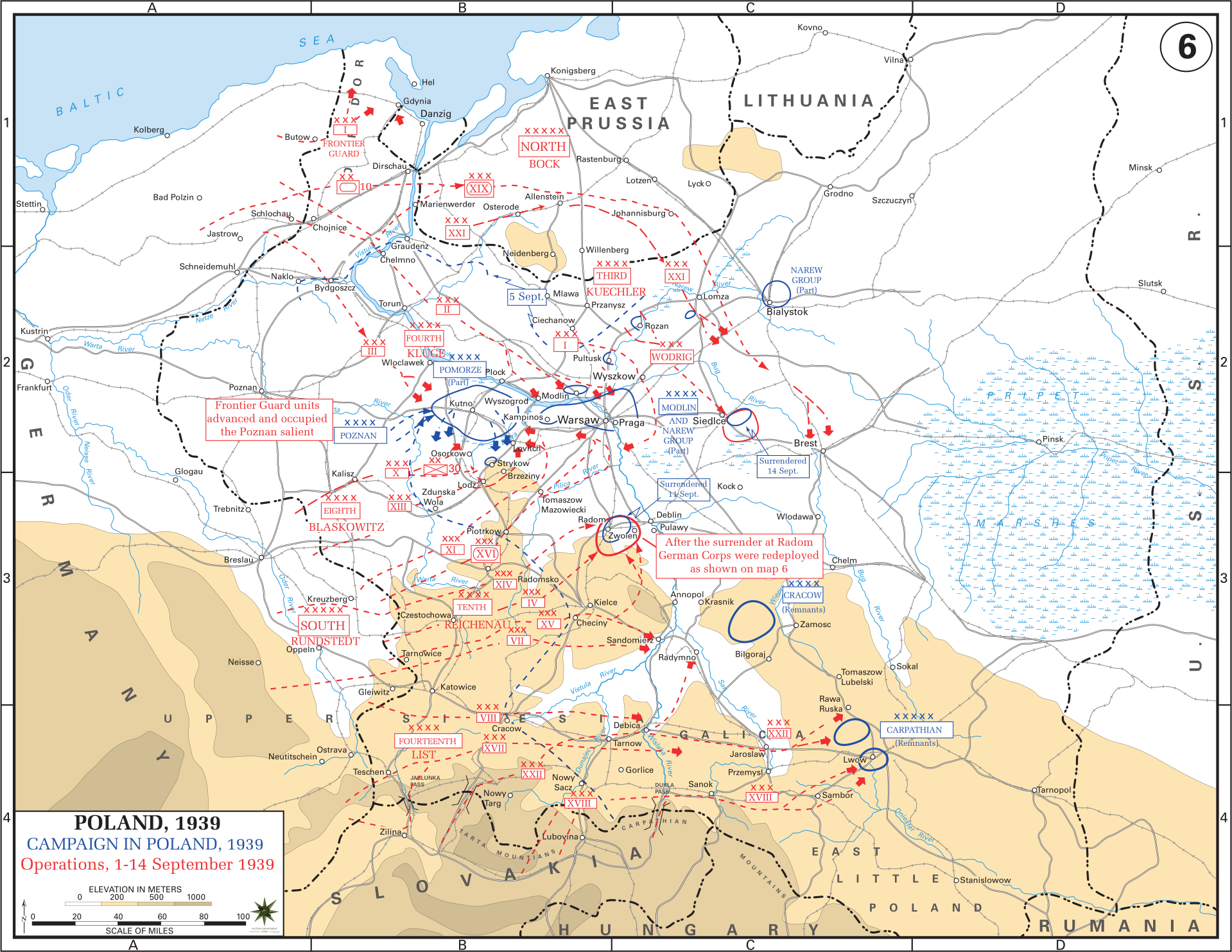 Eastern Front Maps of World War II - Inflab - Medium