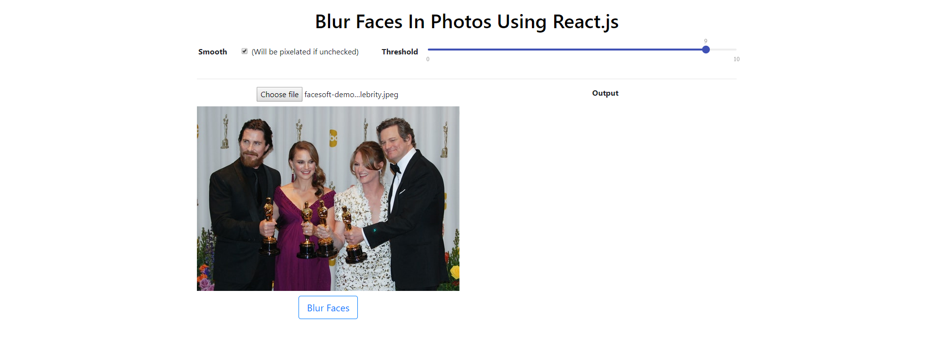 How to Blur Faces in Photos Using React - Better Programming
