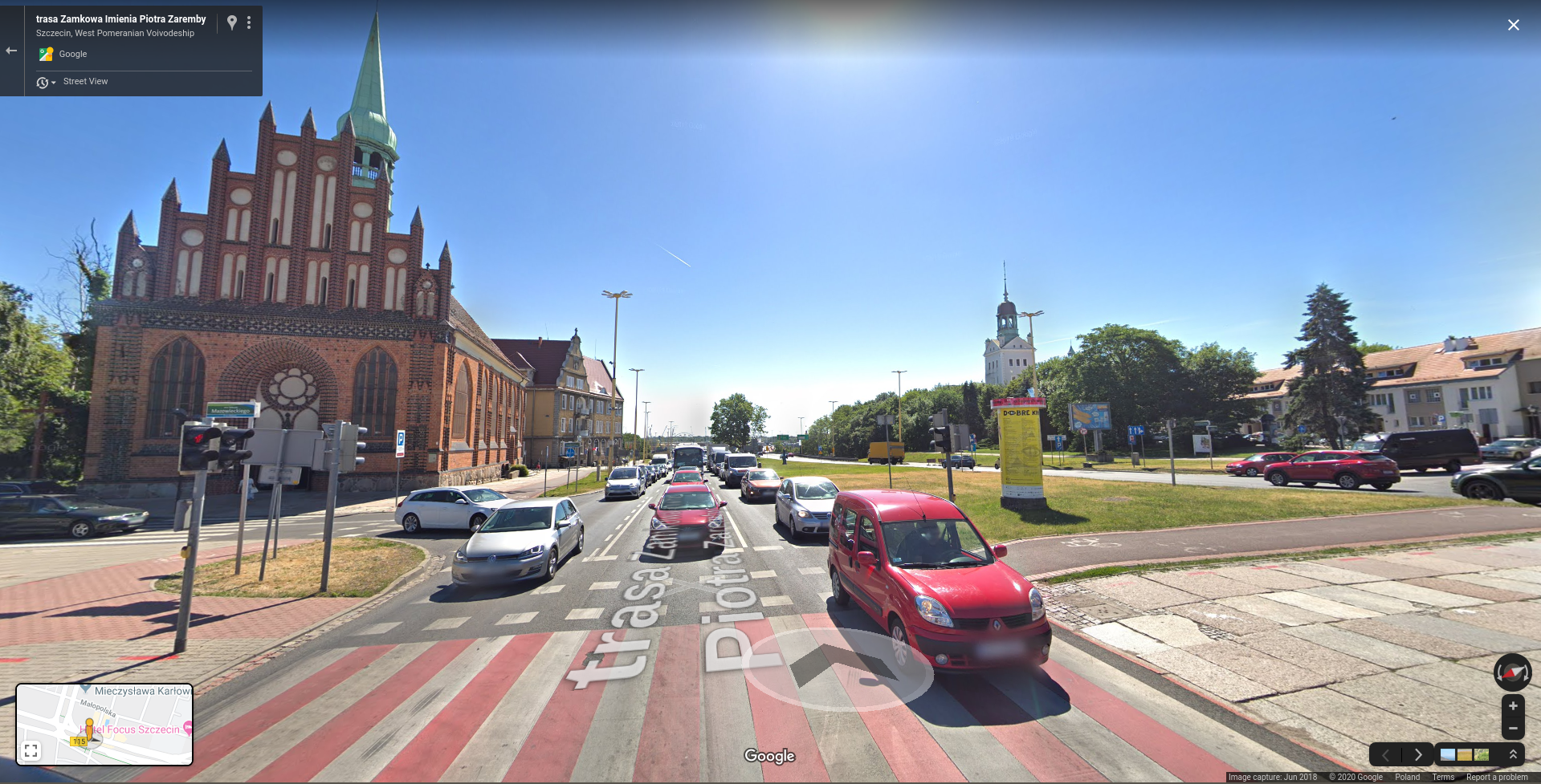 Anonymization results from Google Street View