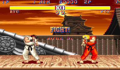Street Fighter Ii Savior Of The Fighter Game Genre