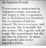 Aquarius woman to things know about 8 Things