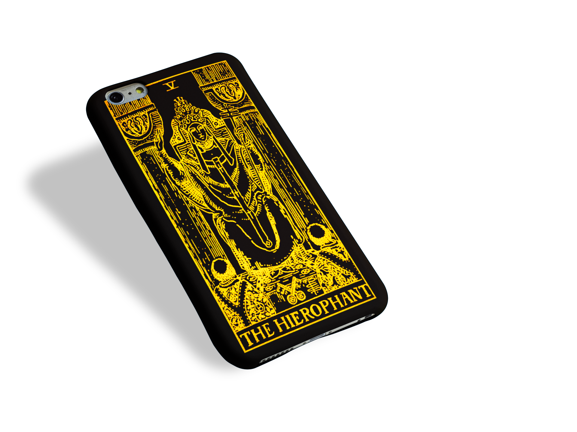 Our Tarot Cards Phone Case Collection is here: The Hierophant Tarot Card Phone Case.
