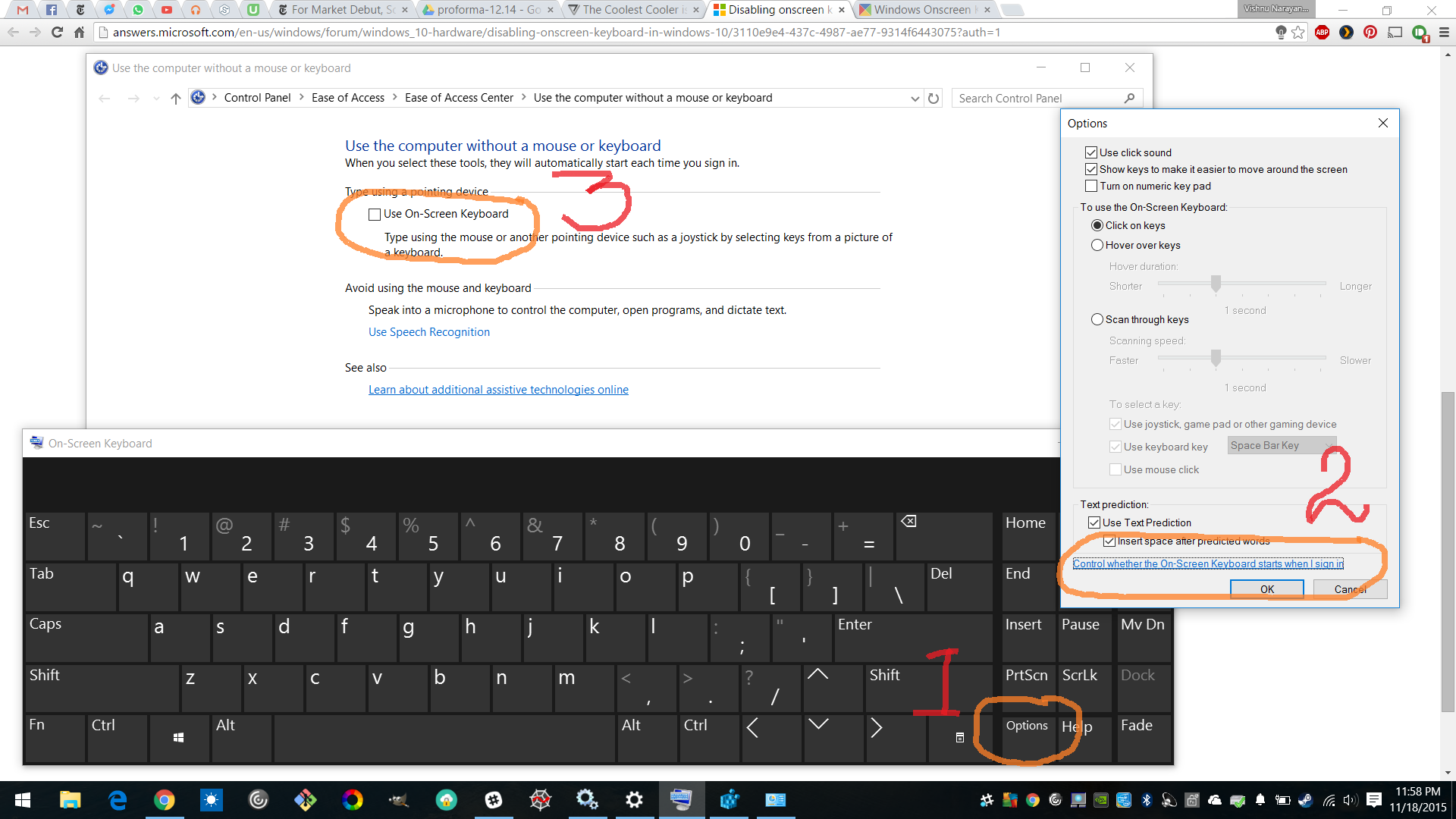 How to Disable Annoying On-Screen Keyboard in Windows 10 (or 8)