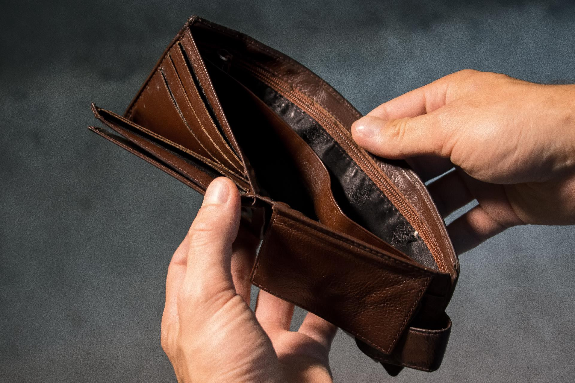 College stress from financial troubles