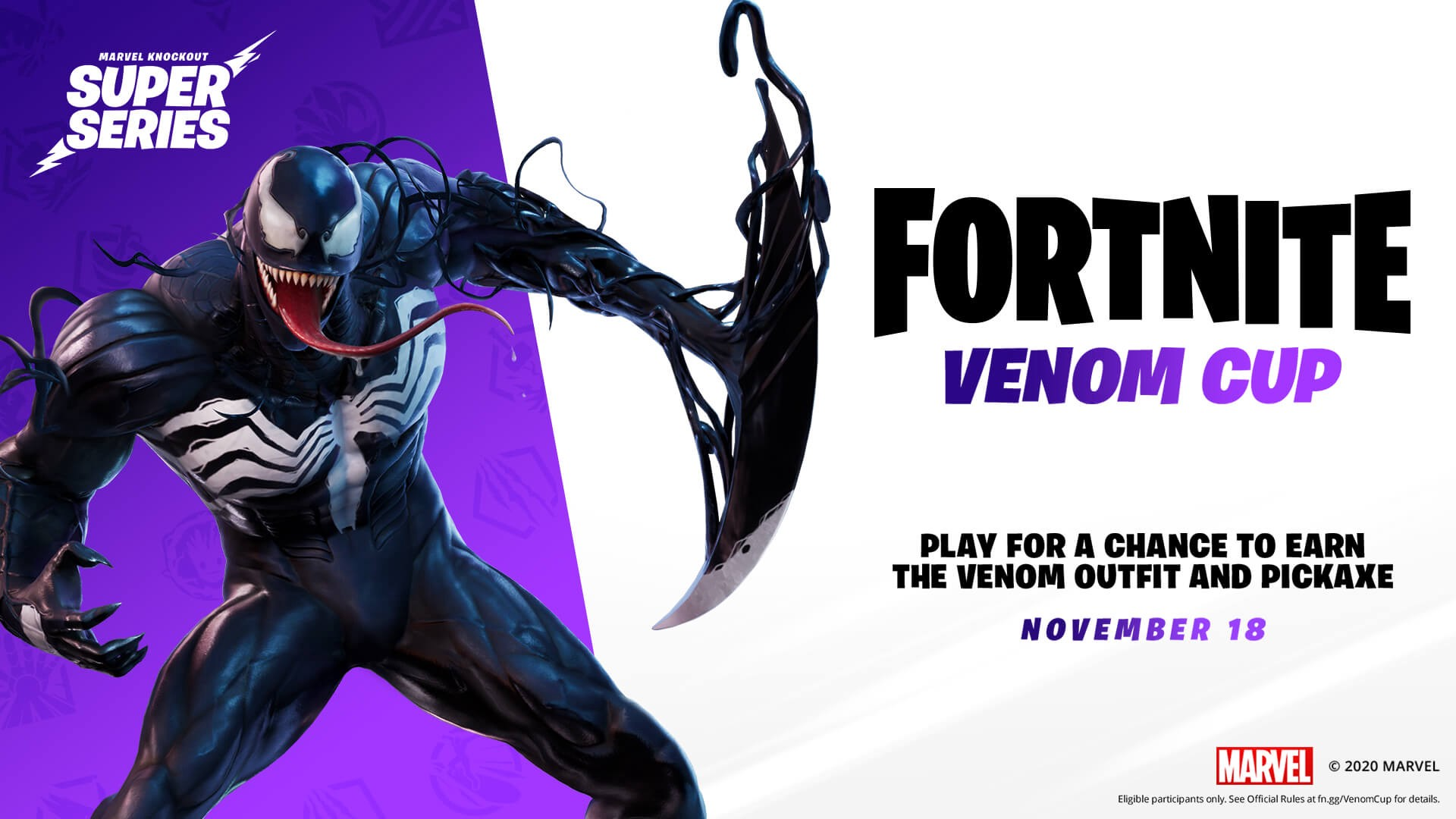 Fortnite Venom Cup  and Marvel Super Cup starts soon.