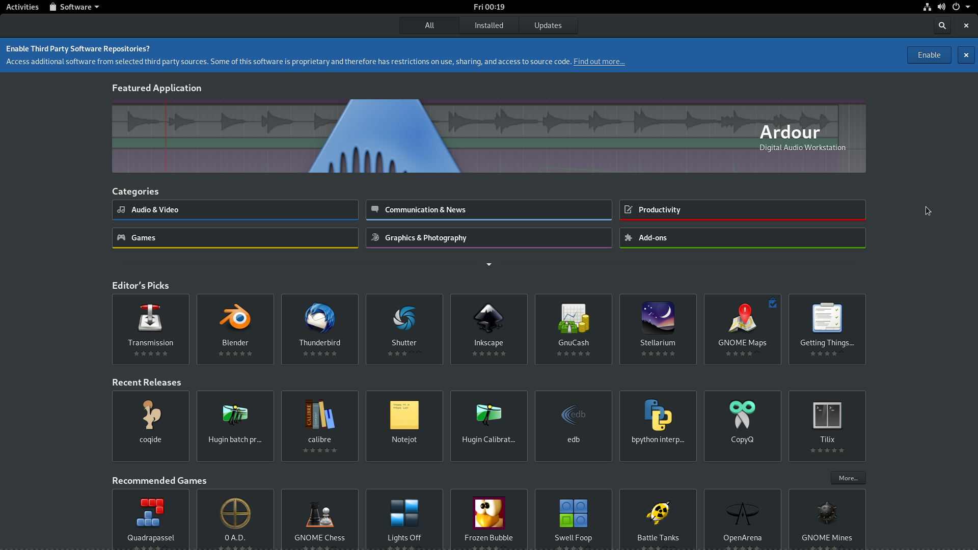GNOME on FEDORA Rawhide 29! F*ck Yeah! - alex285 - Medium