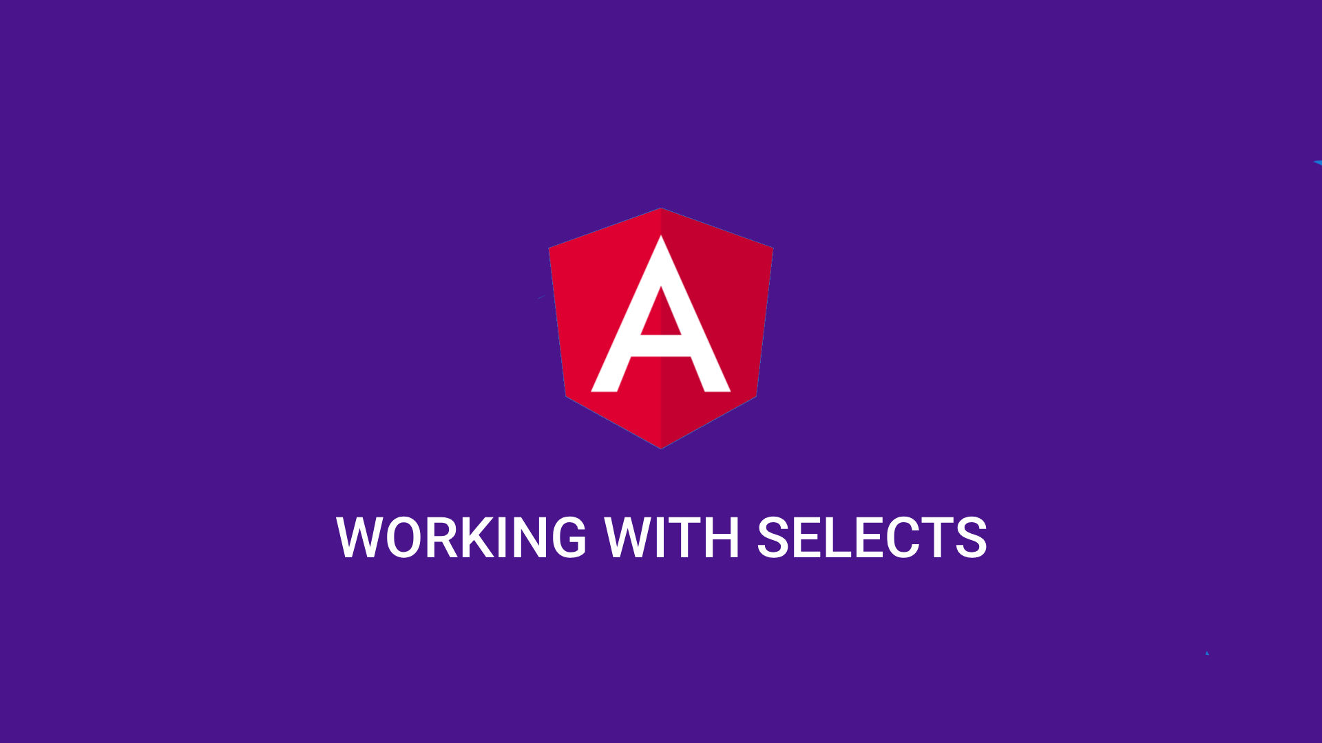How to set selected option dynamically in Angular 6