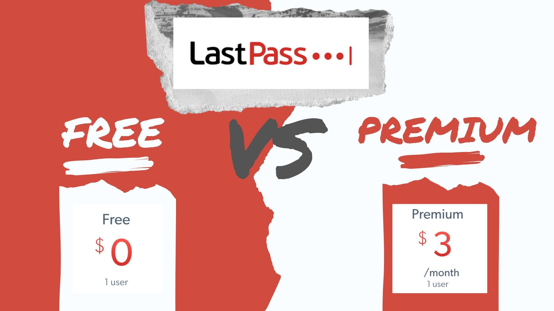 difference between lastpass free and premium