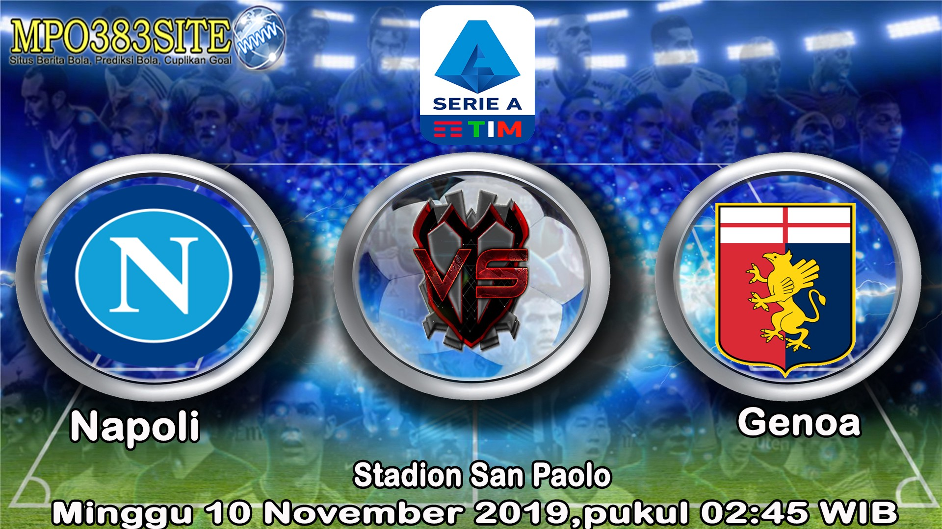 Prediksi Napoli Vs Genoa Minggu 10 November 2019 Mpo383site By Mpo383 Medium