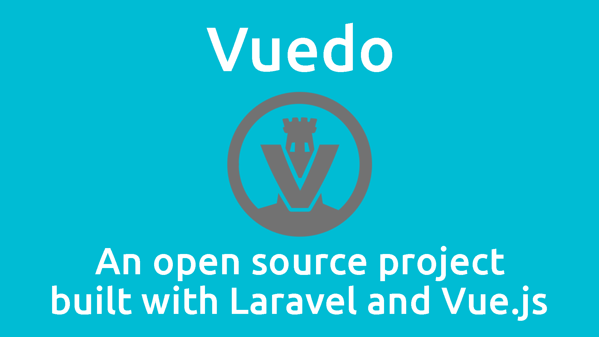 Announcing Vuedo: An open source project built with Laravel