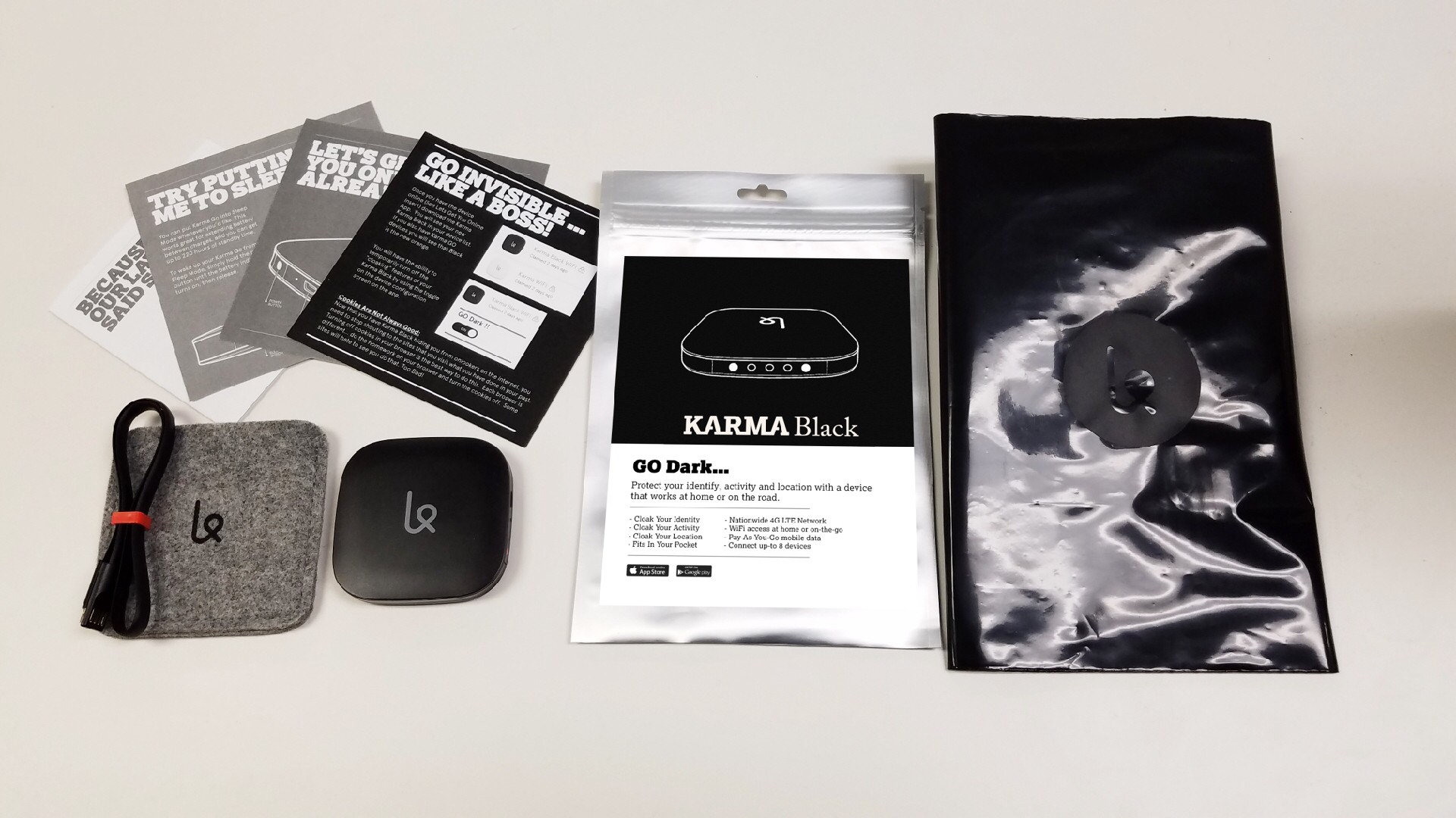 Karma Black is Shipping! - Spread the WiFi — The Official