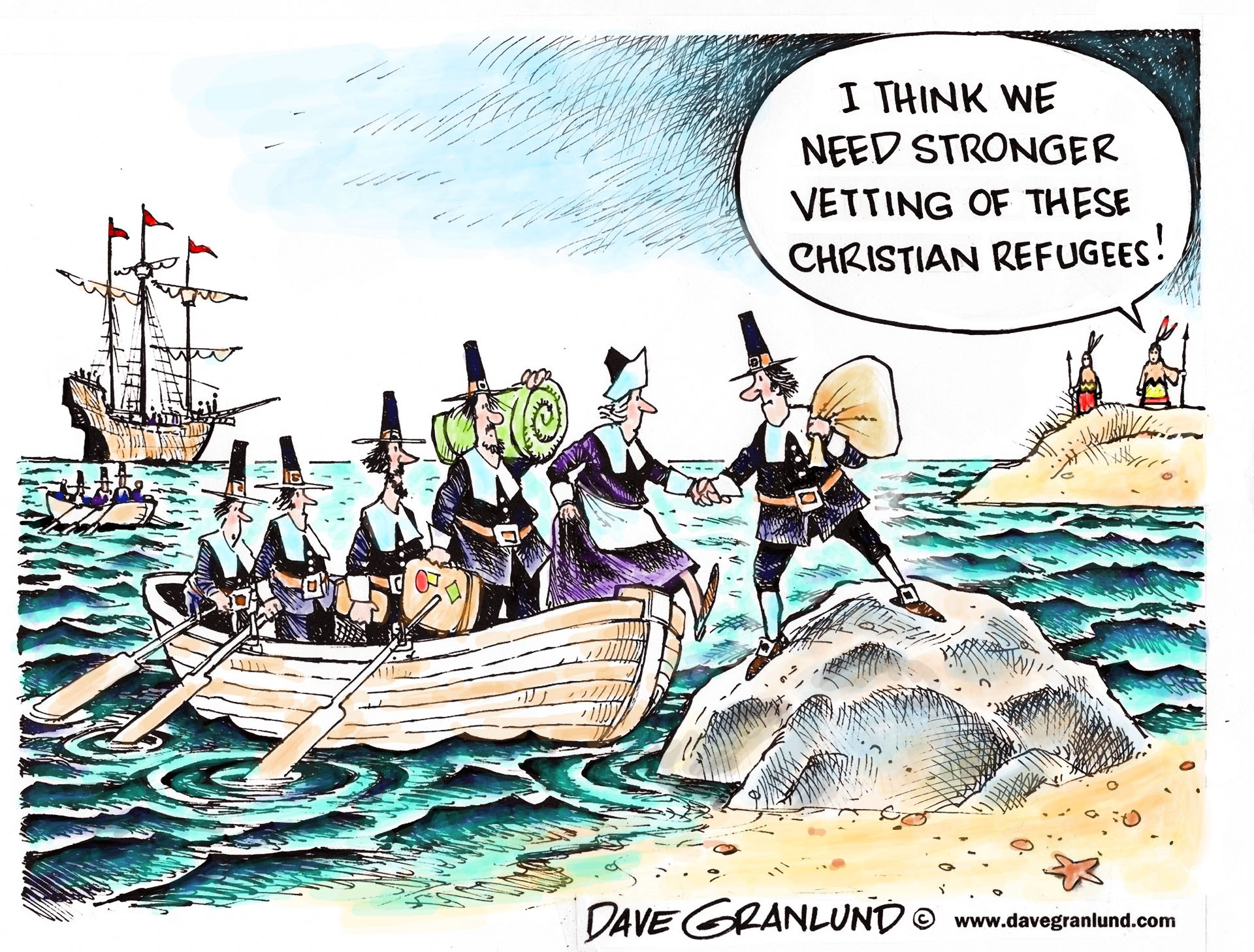 Political Cartoonists Seem Confused About Native Americans Settlers And Immigrants By Peter Stanton Medium