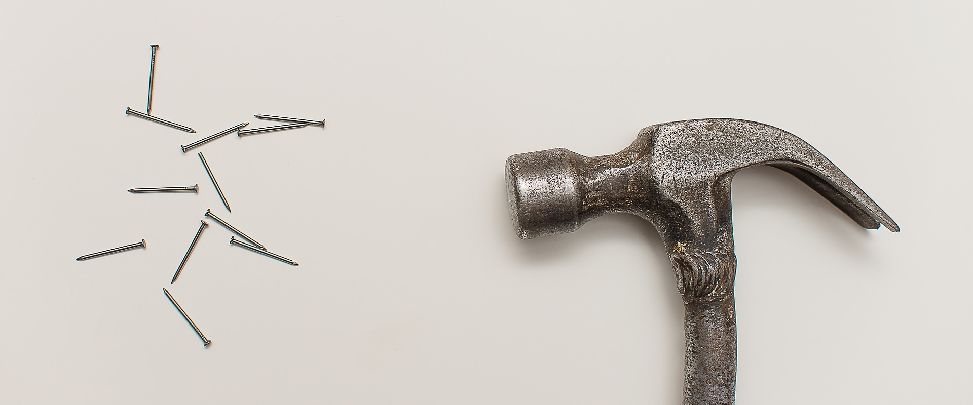 This is image of Hammer and Nails.